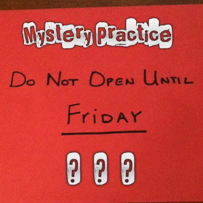 Mystery Practice Assignments