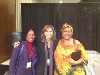 Author of Freddie The Frog Series (center) with Dana Rice and Allison Upshaw