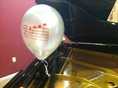 Sight Reading Balloon