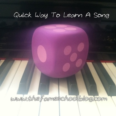 Quick Way To Learn A Song