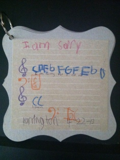 I Am Sorry Song