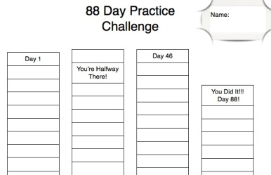 Practice Tracker