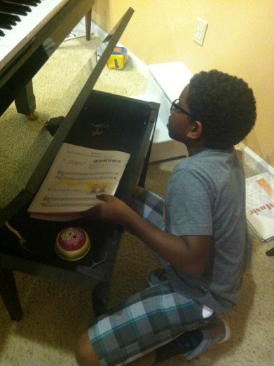 Piano Bench Student