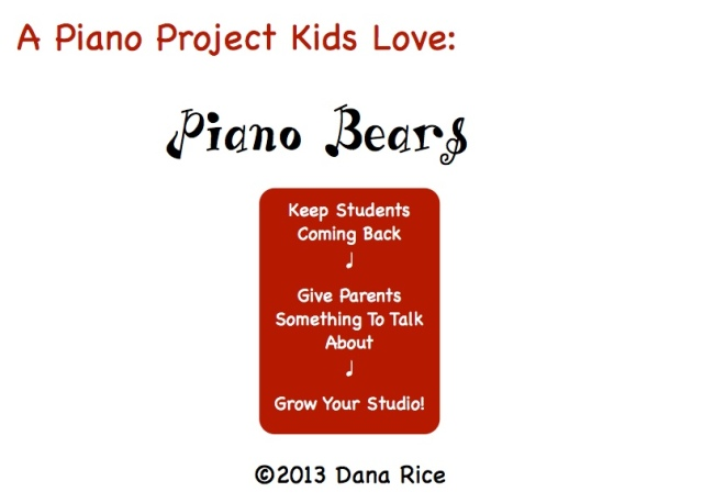 Piano Bears Cover