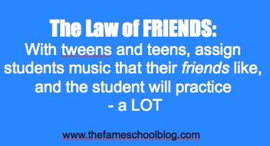 Law of Friends