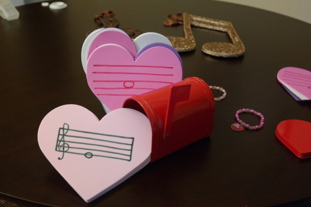 Valentine's Piano Activities