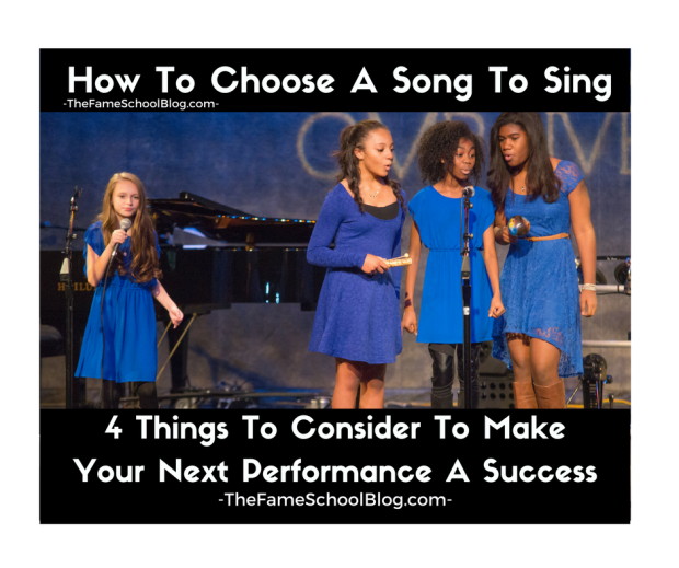 How To Choose A Song To Sing
